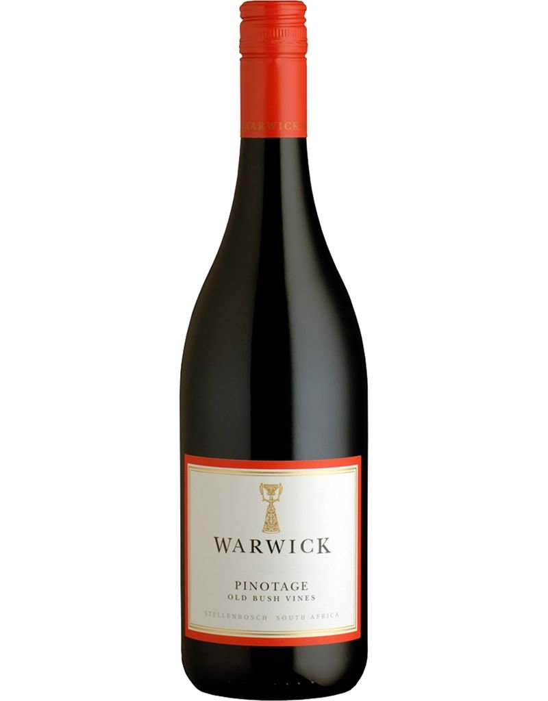 South African Wine Warwick Estate Pinotage Old Bush Vines Stellenbosch South Africa 2011 750ml