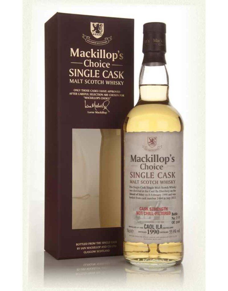 Scotch MacKillops Choice Caol Ila 1990 22 Year