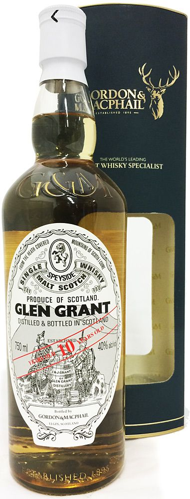 Scotch Gordon & Macphail Glen Grant 10 Year 750ml