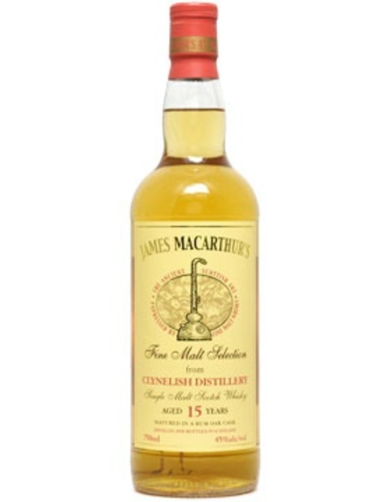 Scotch James MacArthurs Clynelish 15 Year Rum Finish 750ml