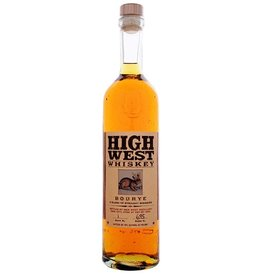 Rye Whiskey HIgh West Bourye Whiskey 750ml