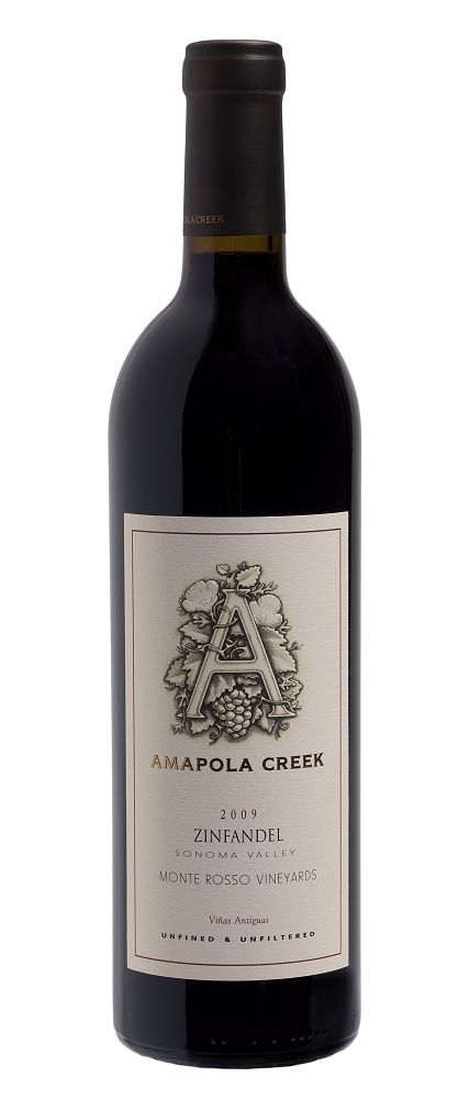 "American Wine Amapola Creek ""Monte Rosso Vineyards"" Zinfadel Napa Valley 2012 750ml"