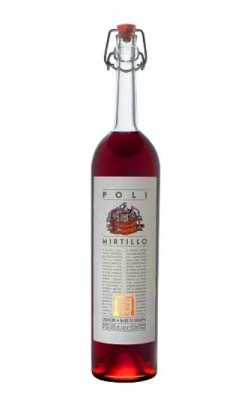 Liqueur Poli Mirtillo Blueberry Liqueur 750ml