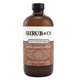 Mixer Shrub & Co. Spicy Ginger Shrub 16oz
