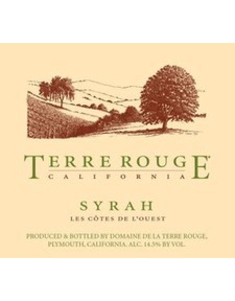 """American Wine Terre Rouge Syrah """"Les Côtes de l'Ouest"""" 2012 750ml"""