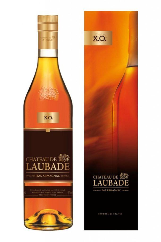 Brandy Chateau de Laubade Bas Armagnac X.O. 750ml