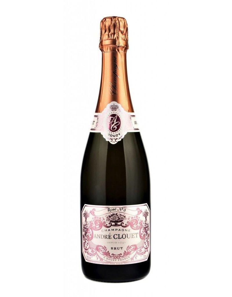 Sparkling Wine Andre Clouet Brut Rose Champagne NV 750ml