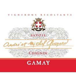 French Wine Andre et Michel Quenard Chignin Gamay Savoie 2014 750ml