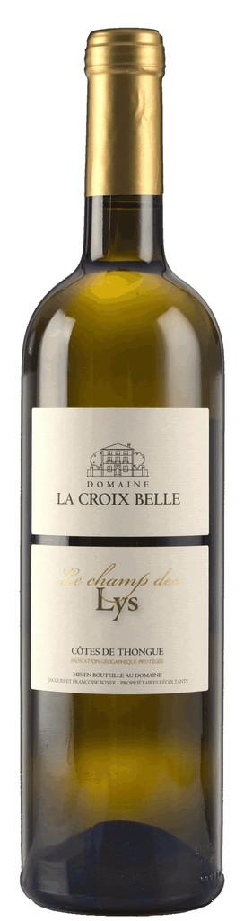 """French Wine Domaine La Croix Belle """"Le Champs des Lys"""" Blanc Cotes de Thongue 2016 750ml"""