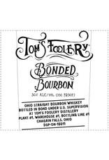 Bourbon Tom's Foolery Bonded Bourbon 50% abv 750ml