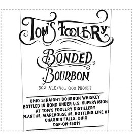 Bourbon Tom's Foolery Bonded Bourbon 50% abv 750ml