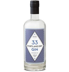 "Gin New Deal ""33"" Portland Dry Gin 750ml"