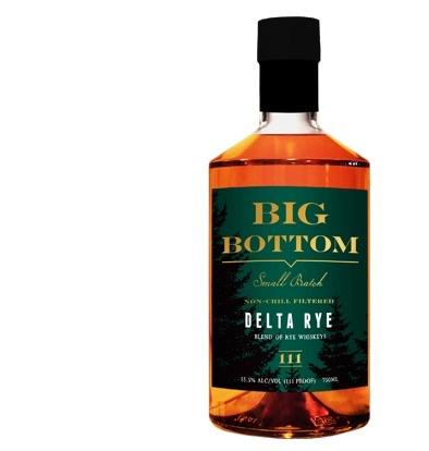Rye Whiskey Big Bottom Delta Rye 750ml