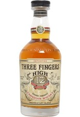 Whiskey Three Fingers 12 Year Canadian Whisky 750ml