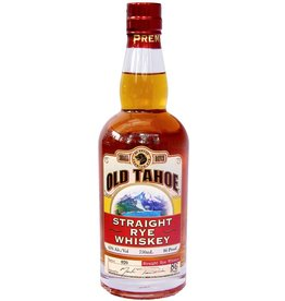 Rye Whiskey Old Tahoe Straight Rye Whiskey 750ml