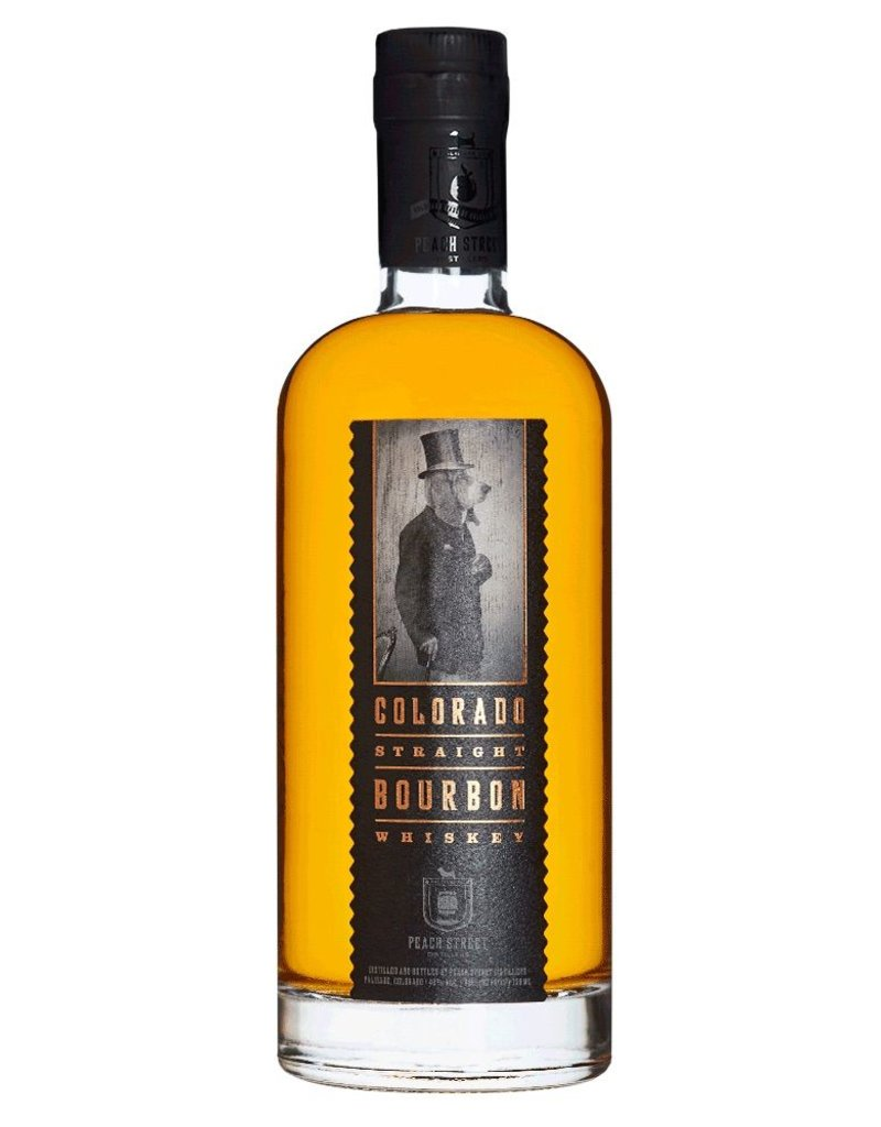 Bourbon Peach Street Colorado Straight Bourbon Whiskey 750ml