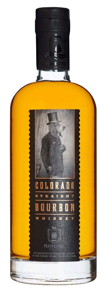 Bourbon Peach Street Colorado Straight Bourbon Whiskey 750ml
