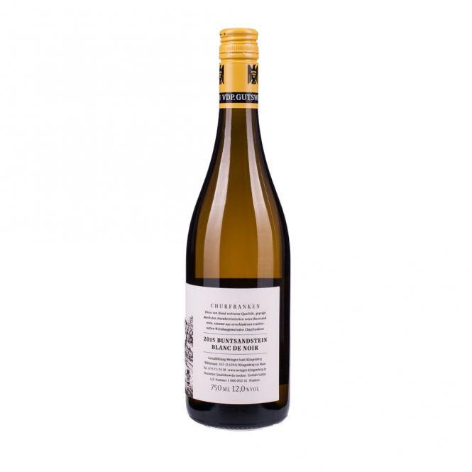German Wine Stadt Klingenberg Buntsandstein Blanc de Noir (Pinot Noir) Franken Germany 2014 750ml