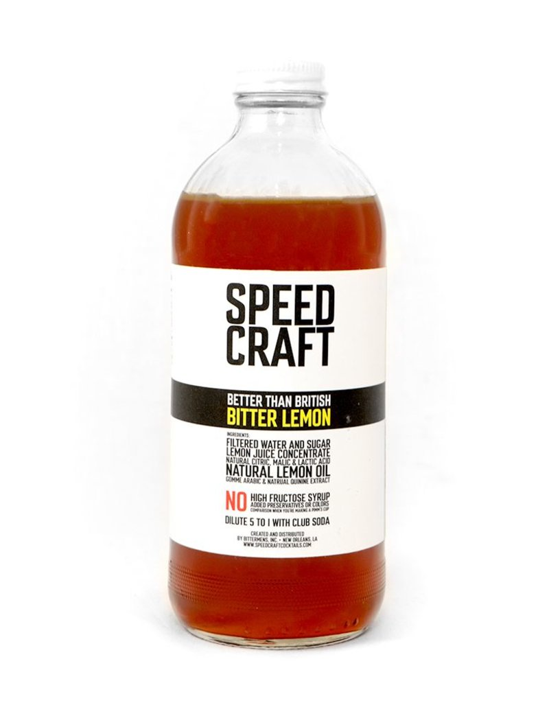 Mixer Speed Craft Bitter Lemon 474ml