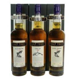 Scotch Malt Trust Auchroisk 17 Year Single Malt Scotch Cask No. 3570 59.1% abv 750ml (The one on the left)