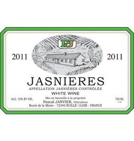 French Wine Pascal Janvier Jasnieres 2016 750ml