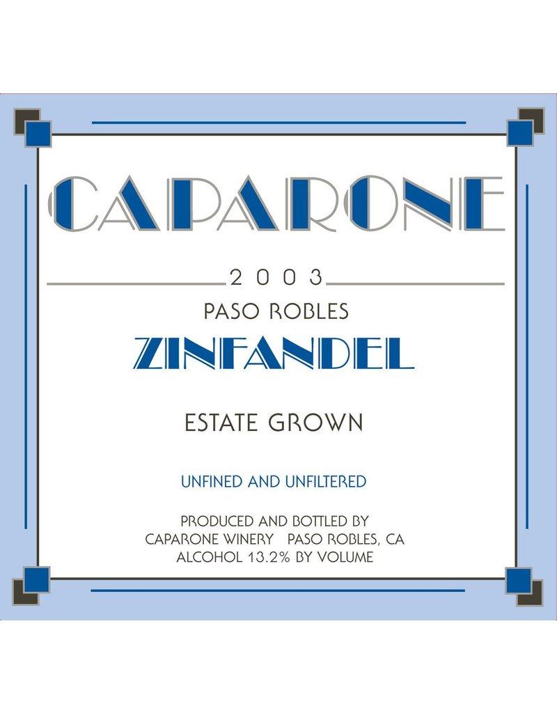 American Wine Caparone Zinfandel Paso Robles 2011 750ml