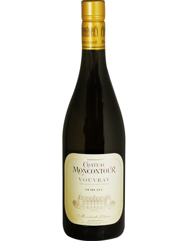 French Wine Moncontour Demi Sec Vouvray 2014 750ml