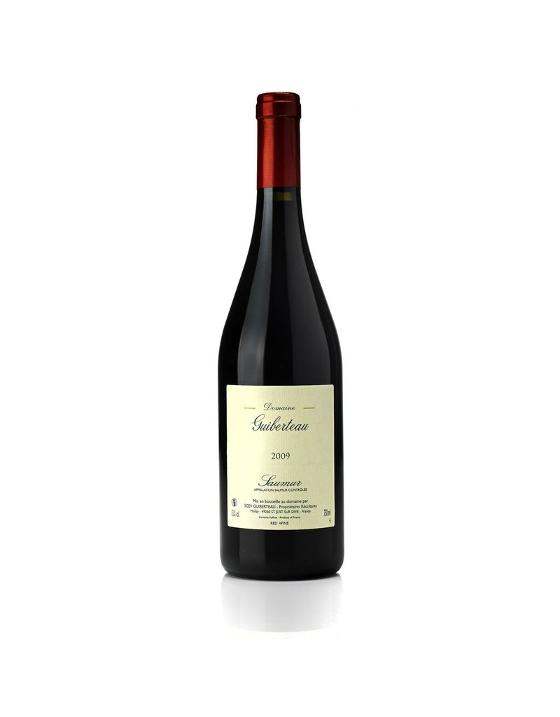 French Wine Domaine Guiberteau Saumur Rouge 2016 750ml