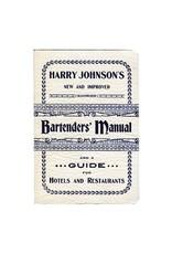 Books Harry Johnson's Bartender's Manual Book