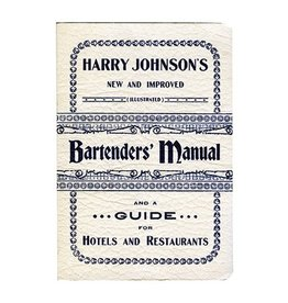 Books Harry Johnson's Bartender's Manual Book