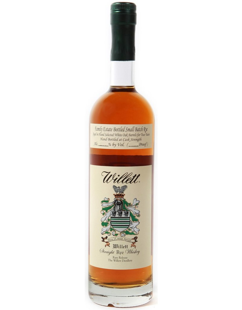 Rye Whiskey Willet Straight Rye Whiskey 3 Year Small Batch 55.7%abv 750ml