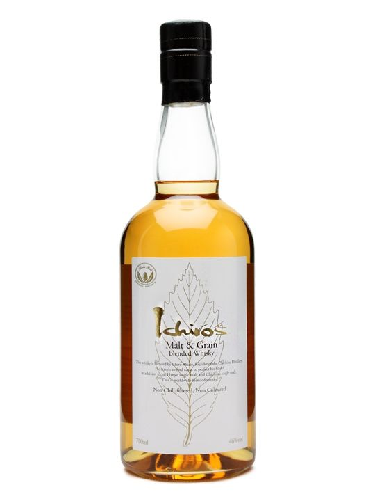"Asian Whiskey Ichiro's Malt Chichibu """"Malt and Grain"" Japanese Whisky 750ml"