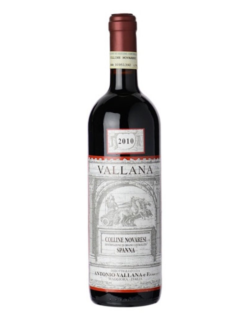 Italian Wine Vallana Colline Novaresi Spana 2011 750ml