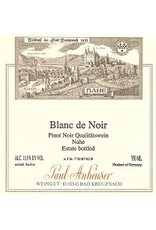 German Wine Paul Anheuser Blanc de Noir Qualitatswein Nahe (Off-Dry) 2015 750ml