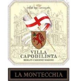 """Italian Wine Villa Capodilista """"La Montecchia"""" Merlot-Cabernet-Raboso Colli Euganei Rosso 2009 750ml"""
