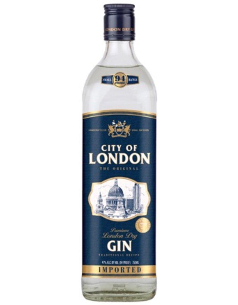 Gin City of London Dry Gin 750ml