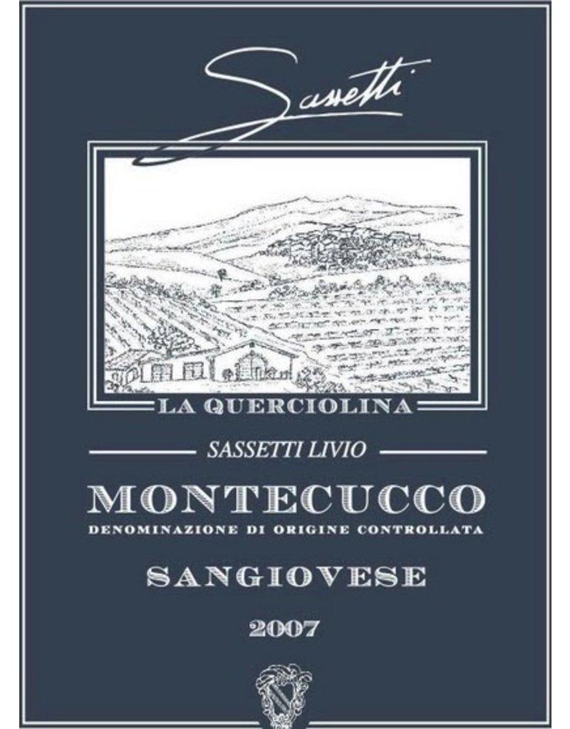 """Italian Wine Lorenzo Sassetti """"La Querciolina"""" Montecucco Rosso 2014 750ml"""