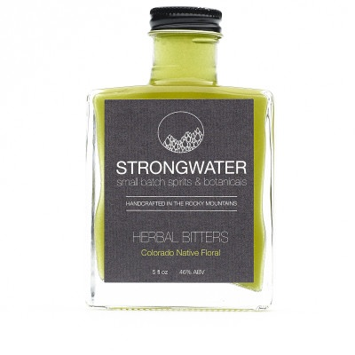 Bitter Strongwater Native Floral Bitters 5oz