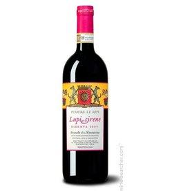 """Italian Wine Podere Le Ripi """"Lupi Sirene"""" Brunello 2009 750ml"""
