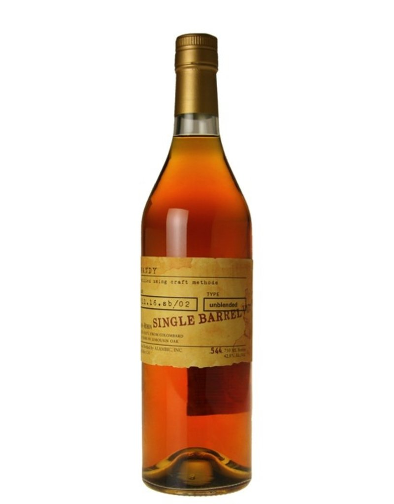 Brandy Germain-Robin Single Barrel 16 Year Riesling Brandy 750ml
