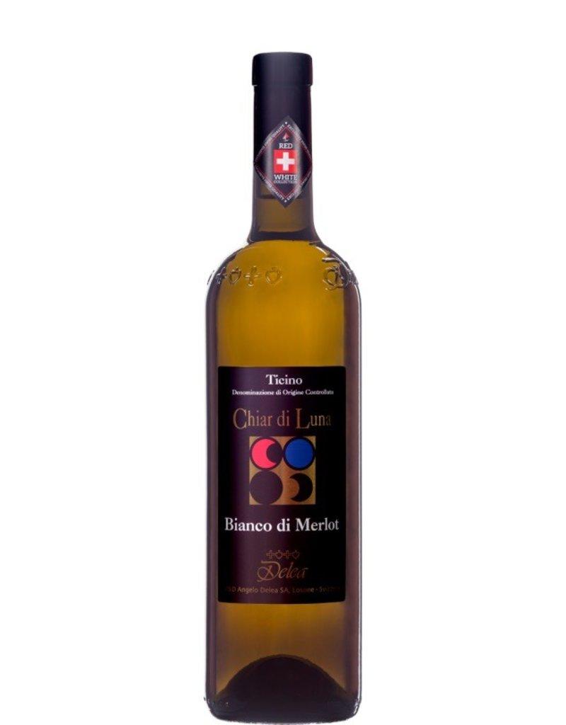 Swiss Wine Delea Chiar di Luna Bianco di Merlot Ticino Switzerland 2015 750ml