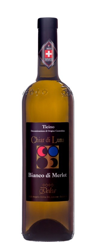 Swiss Wine Delea Chiar di Luna Bianco di Merlot Ticino Switzerland 2017 750ml