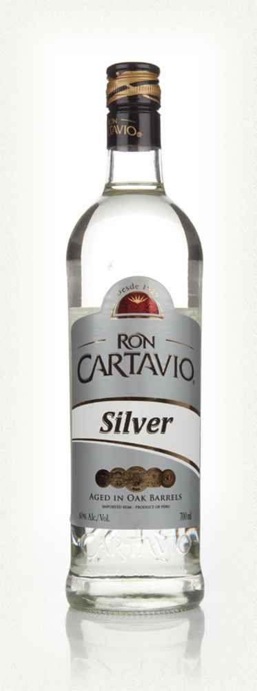 Rum Ron Cartavio Silver Rum 750ml