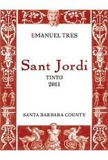 "American Wine Emanuel Tres ""Sant Jordi"" Tinto Santa Barbara County 50% Carignan 50% Grenache 2012 750ml"