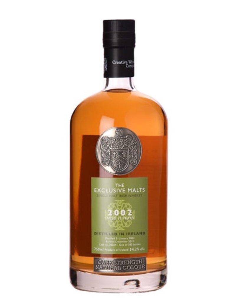 Irish Whiskey The Exclusive Malts Irish Whiskey 12 Year 2003 Cask Strength 53.6%abv 750ml