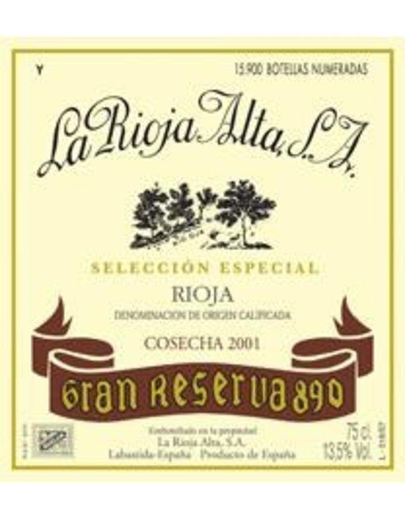 "Spanish Wine La Rioja Alta ""890"" Rioja Gran Reserva 2004 750ml"