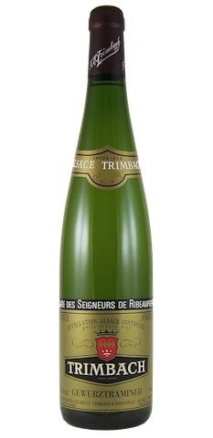 """French Wine Trimbach Gewurztraminer """"Cuvée des Seigneurs de Ribeaupierre"""" 2007 750ml"""