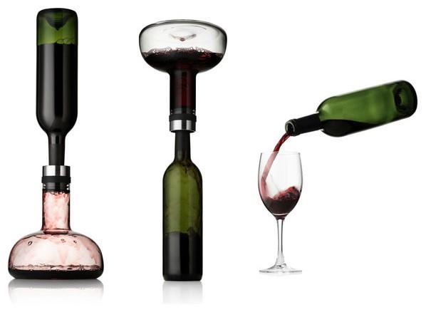 Merchandise Creative Danes Wine Breather Carafe Decanter Menu