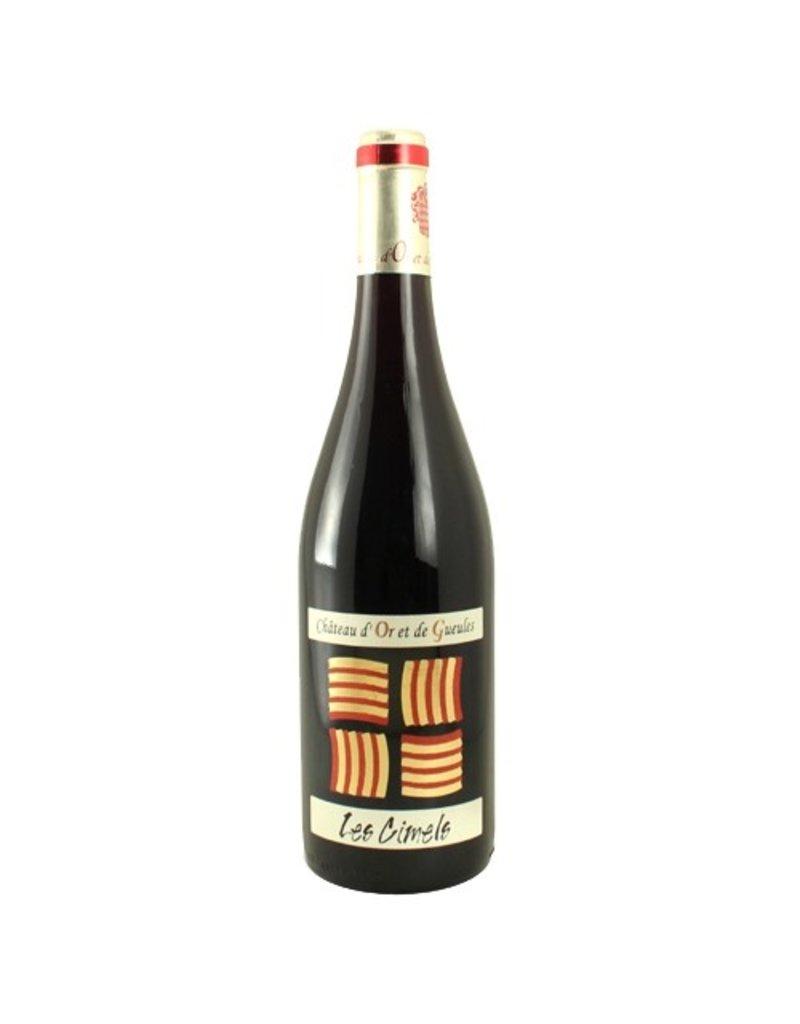 """French Wine Chateau d'Or et de Gueules """"Les Cimels"""" Costieres de Nimes 2013 750ml"""
