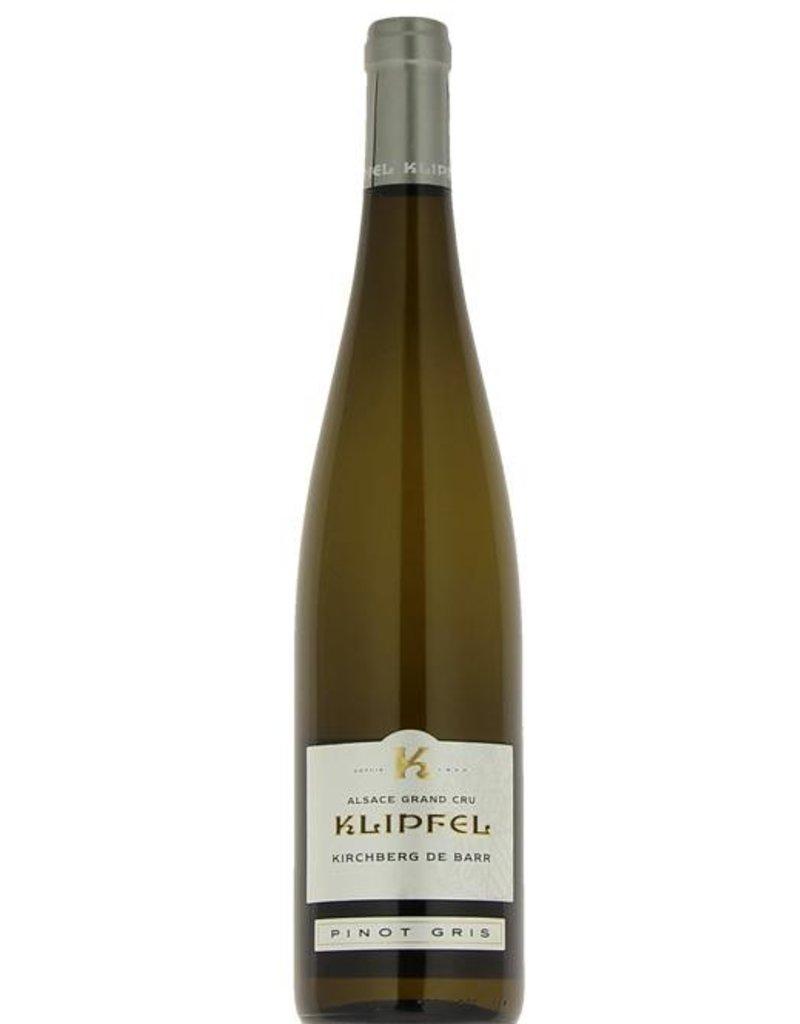 "French Wine Klipfel ""Kirchberg de Barr"" Grand Cru Pinot Gris 2013 750ml"